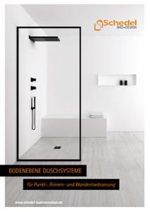 Bodenebene Duschsysteme