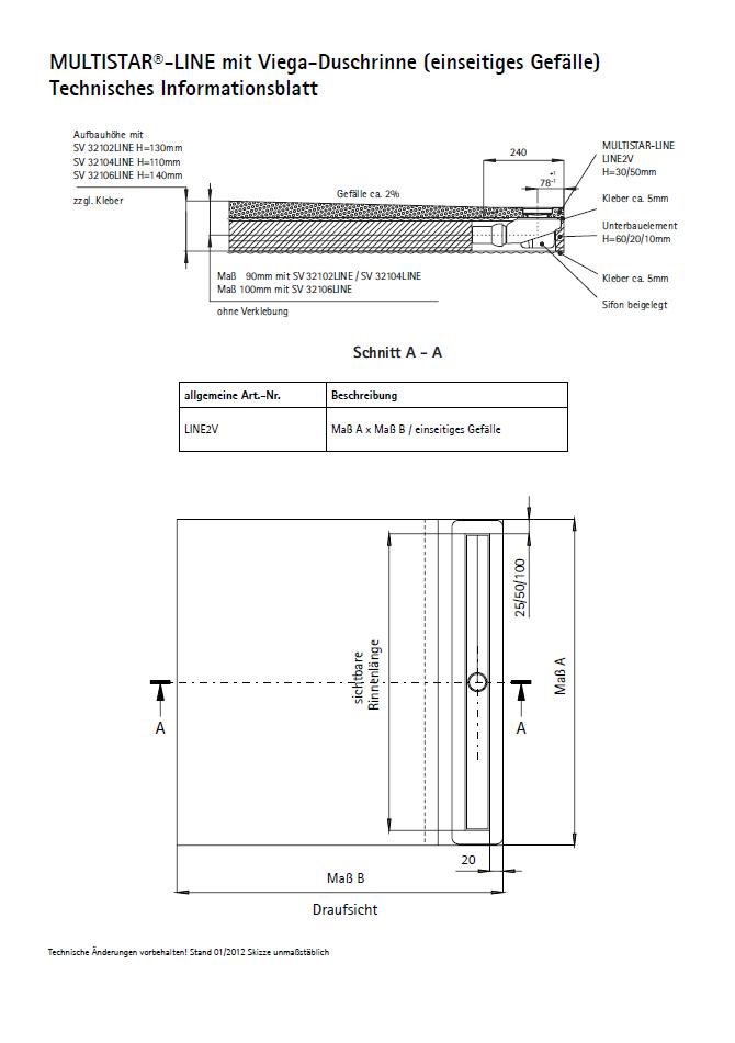 SCHEDEL MULTISTAR<sup>®</sup> LINE 2V