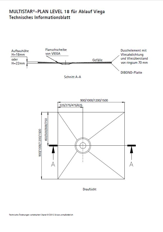 SCHEDEL MULTISTAR<sup>®</sup> PLAN Level 18 für Ablauf Viega