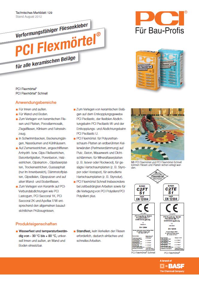 SH 32310 MULTISTAR<sup>®</sup> Ansatzkleber Flexfliesenkleber PCI