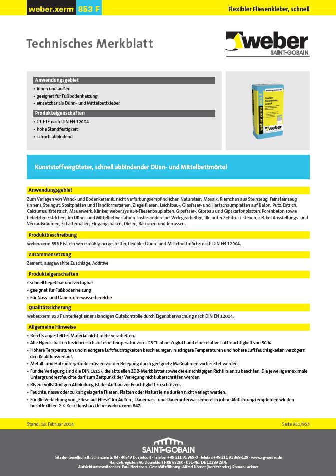 SH 32310 MULTISTAR<sup>®</sup> Ansatzkleber Flexfliesenkleber Weber