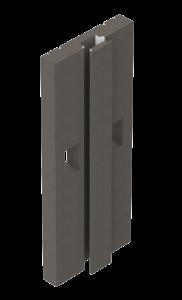VISION Wandmodul mit Installationsschacht