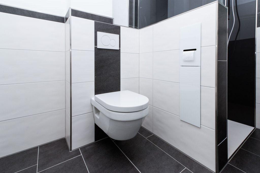 Schnelle Sanierung: Dusche und WC-Platz