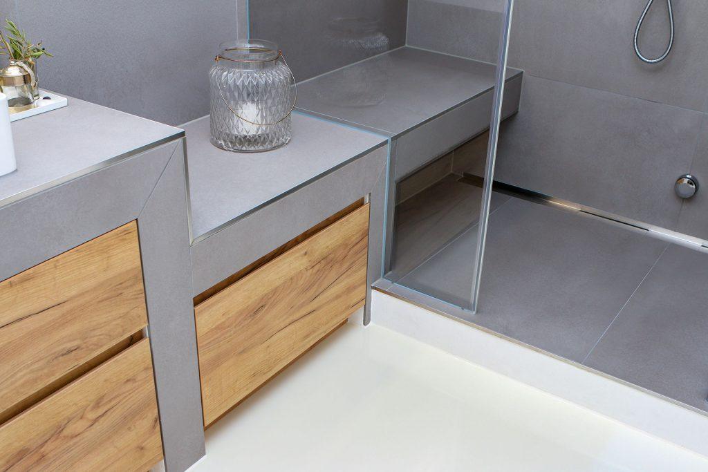 Bad Design selbstgemacht - Sitzelement als Sonderanfertigung