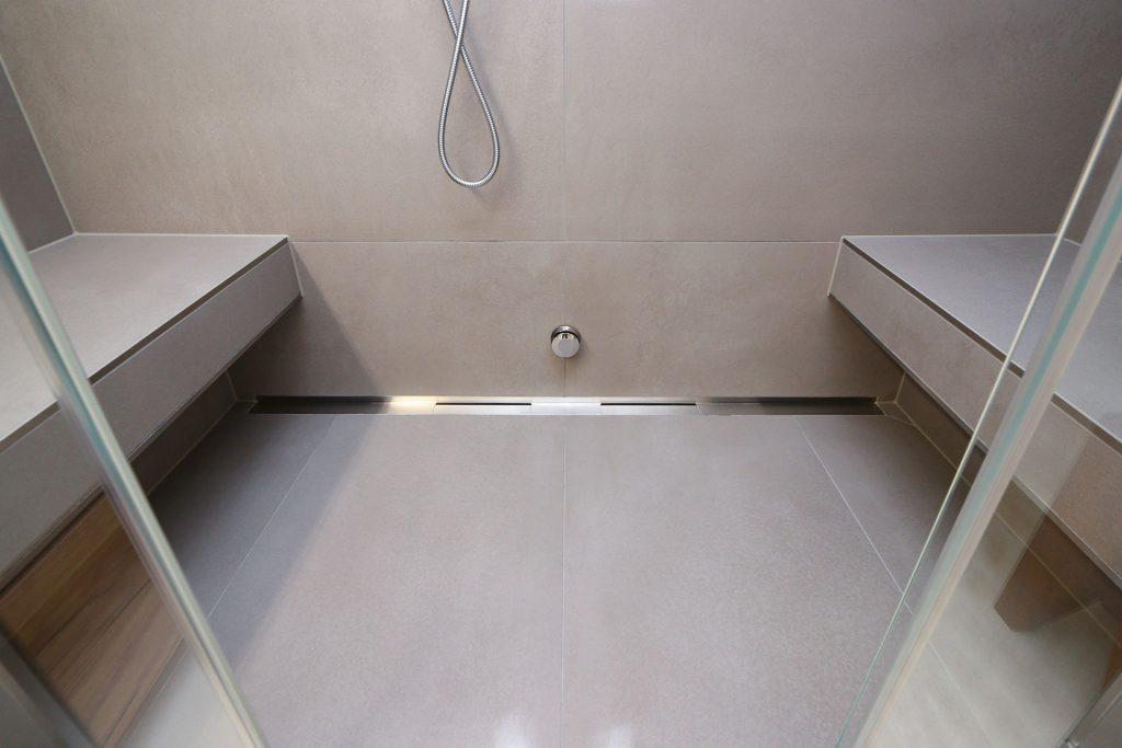 Bad Design selbstgemacht - Duschrinne
