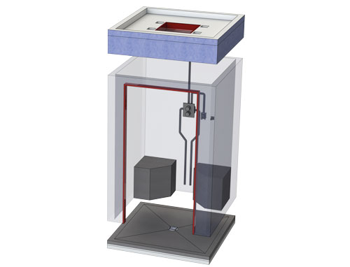 Dampfkabine bis 2,25 m²