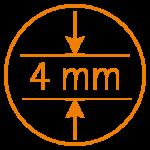 4 mm Plattenstärke