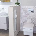 WaschSalon Bautzen - die Badausstellung vom Handelshof Bautzen: WC-Schamwand Element, befliesbar, mit passender Aussparung für WC-Module